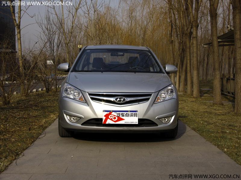 【现代汽车图片库】北京现代 2008款 悦动 1.8 gls mt