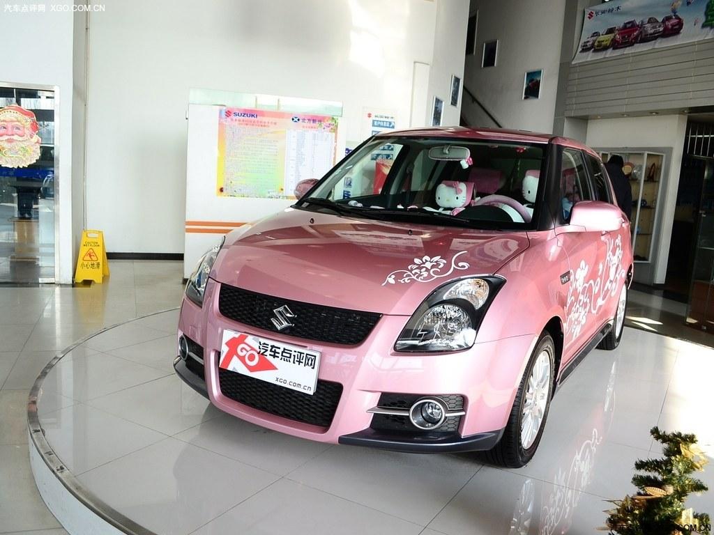 【铃木汽车图】长安铃木 雨燕 1.5 绚丽版车身外观